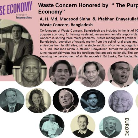 Waste Concern Honored