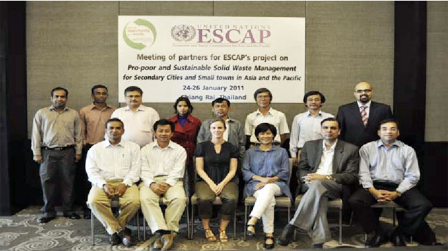Meeting of Partners for  Pro-Poor and Sustainable Solid Waste Management Project for Secondary Cities and Small Towns in Asia