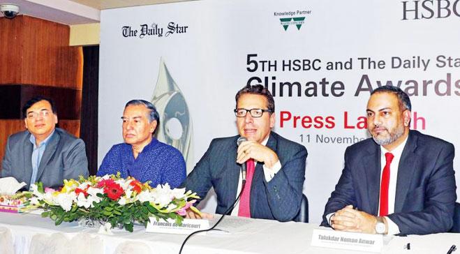 Fifth HSBC-Star Climate Awards