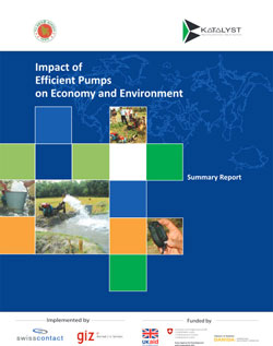 Impact of Efficient Pumps on Economy and Environment (Summary Report)