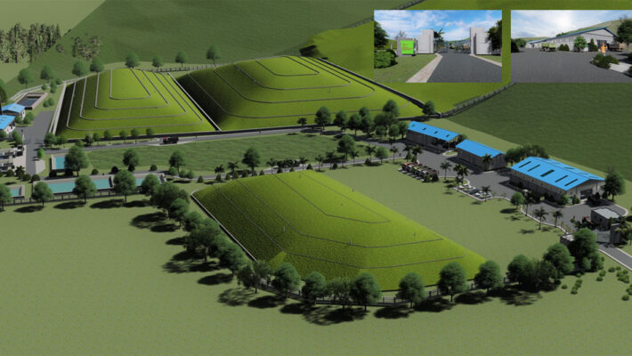Waste Concern Consultants Designed an Integrated Landfill in Vang Vieng City in Lao PDR